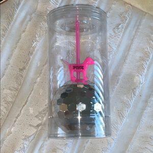 VS PINK collectors disco cup NWT